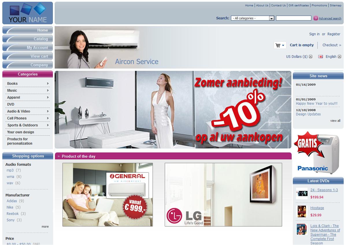 webdesign aanpassing